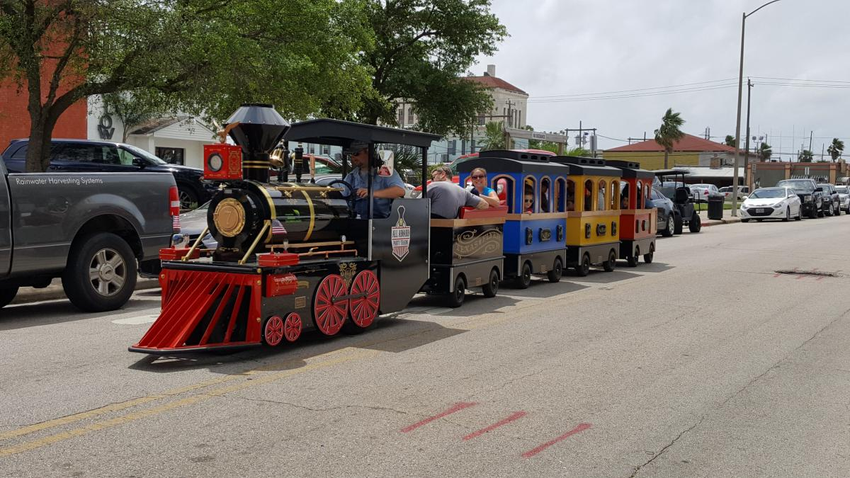 Trackless Trains – All Aboard Trackless Trains in Houston